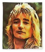 Rod Stewart Collection 1 Fleece Blanket