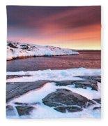 Rodebay Sunset Fleece Blanket