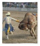 Rodeo Clown Fleece Blanket