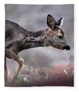 Roe Deer Fleece Blanket