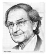 Roger Penrose Fleece Blanket