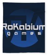 Rokabium Games Logo Fleece Blanket