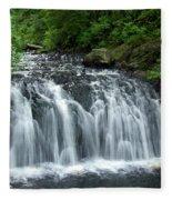 Rolley Lake Falls Dry Brushed Fleece Blanket