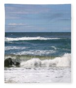 Rolling Ashore Fleece Blanket