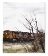 Rolling Into View Fleece Blanket