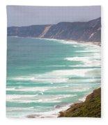Rolling Mist Fleece Blanket