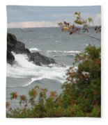 Rolling Storm Fleece Blanket