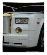 Rolls Royce Phantom Fleece Blanket