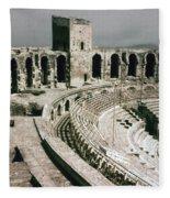 Roman Amphitheatre, Arles Fleece Blanket