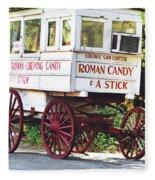Roman Candy Fleece Blanket
