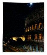 Roman Colosseum Fleece Blanket