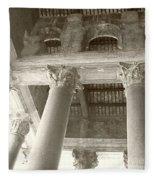 Roman Columns Fleece Blanket