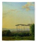 Roman Countryside Fleece Blanket