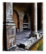 Roman Pillars  Fleece Blanket