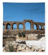 Roman Ruins Fleece Blanket