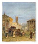 Roman Veduta Fleece Blanket