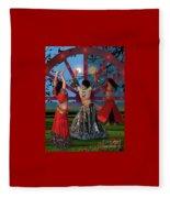 Romani Dance Fleece Blanket