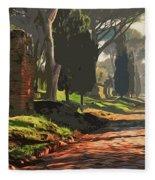 Rome, Appian Way - 05 Fleece Blanket