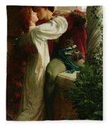 Romeo And Juliet Fleece Blanket