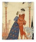 Romeo And Juliette Fleece Blanket