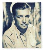 Ronald Colman, Hollywood Legend Fleece Blanket