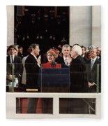 Ronald Reagan Inauguration - 1981 Fleece Blanket
