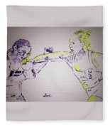 Ronda Rousey Fleece Blanket