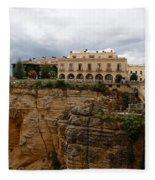 Ronda Spain- The Puente Nuevo Fleece Blanket