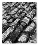 Roof Tiles Fleece Blanket