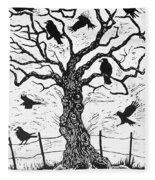 Rook Tree Fleece Blanket