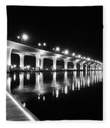 Roosevelt Bridge, Stuart Fl Fleece Blanket