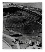 Vintage - Roosevelt Stadium Fleece Blanket