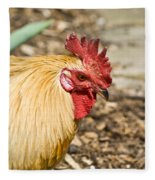 Rooster 1 Fleece Blanket