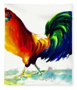 Rooster - Big Napoleon Fleece Blanket