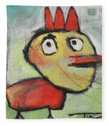Rooster Fleece Blanket