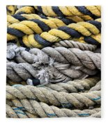 Ropes Fleece Blanket