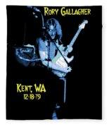 Rory Kent Blues Fleece Blanket