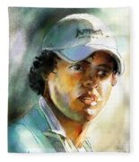 Rory Mcilroy Fleece Blanket