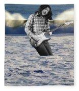 Lost At Sea Fleece Blanket
