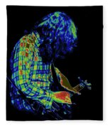 Cosmic Light Fleece Blanket