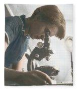 Rosalind Franklin, Crystallographer Fleece Blanket