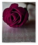 Rose #003 Fleece Blanket