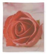 Rose #004 Fleece Blanket