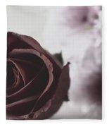 Rose #005 Fleece Blanket
