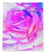 Rose 1 Fleece Blanket