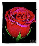 Rose 18-9 Fleece Blanket