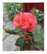 Rose America Fleece Blanket
