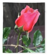 Rose Bud Fleece Blanket