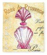 Rose De Provence Fleece Blanket