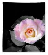 Rose Emergance Fleece Blanket